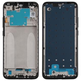 Gehäuse Rahmen Mittelrahmen Deckel für Xiaomi Redmi Note 8 Schwarz Ersatzteil