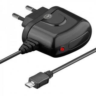 Reiseladegerät 110-240V micro-USB Ladegerät 1, 2 mAh für Samsung HTC uvm. TOP