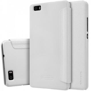 Original Nillkin Smartcover Weiß für Huawei Ascend P8 Lite Tasche Cover Hülle