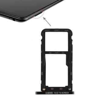Für Xiaomi Mi Max 3 Karten Halter Sim Tray Schlitten Ersatzteil Schwarz Neu Top
