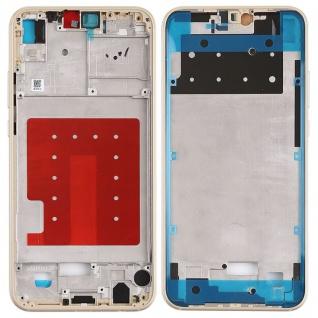 Mittelrahmen für Huawei P20 Lite Front Housing LCD Gehäuse Gold Neu Top