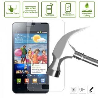 Premium 0, 3 mm Panzerfolie Schock Folie für Samsung Galaxy S2 i9100 Plus i9105P - Vorschau 2