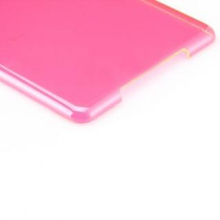 Hardcase Glossy Pink für Apple iPad Air Case Cover Hülle Schale Etui + Folie - Vorschau 4