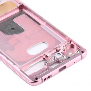 Mittelrahmen Samsung Galaxy S20 5G Pink Middle Frame Zubehör Ersatzteil - Vorschau 5