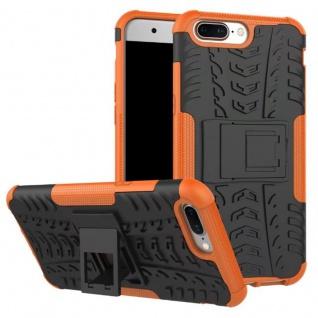 New Hybrid Case 2teilig Outdoor Orange für OnePlus 5 Tasche Hülle Cover Schutz
