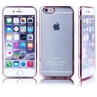 Premium TPU Schutzhülle Pink für Apple iPhone 6 6S Plus 5.5 Case Cover Tasche