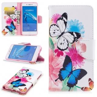 Schutzhülle Motiv 24 für Huawei Honor 6C / Enjoy 6S Tasche Hülle Case Cover Etui
