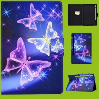 Für Samsung Galaxy Tab A 10.1 2019 T510 Motiv 56 Tasche Kunst Leder Hülle Etuis