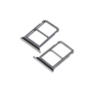Für Huawei P20 Pro Karten Halter Sim Tray Schlitten Holder Schwarz / Grau Ersatz