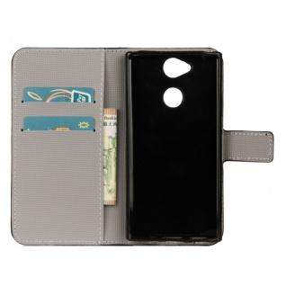 Tasche Wallet Book Cover Motiv 21 für Sony Xperia XA2 Hülle Case Etui Schutz Neu - Vorschau 3
