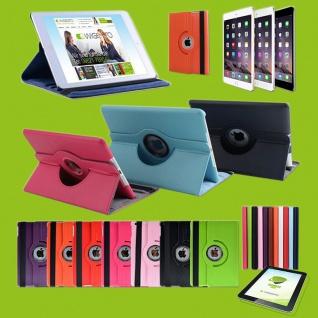 Für Apple iPad Tasche aufstellbar Hülle Cover Etui drehbar 360 Grad Case Robust