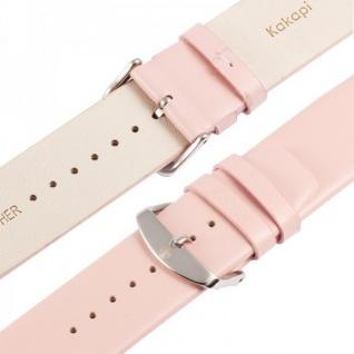 Echtleder Leder Armband Rosa für Apple Watch Lederarmband 38 mm iWatch Zubehör - Vorschau 5