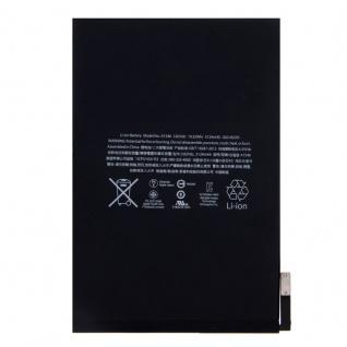 Ersatzakku Akku Batterie kompatibel für Apple iPad mini 4 A1538 A1550 5124mAh