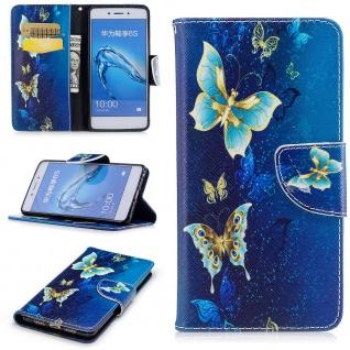 Tasche Wallet Motiv 23 für Huawei Y6 2019 Hülle Case Etui Cover Schutz Cover Neu