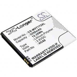 X-Longer Akku Batterie Battery Motorola C Plus XT1723 für HC60 Ersatzakku Accu