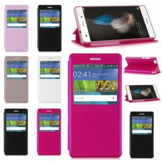 Smartcover Window für Smartphone Tasche Cover Case Hülle Etui Zubehör Schutz Neu