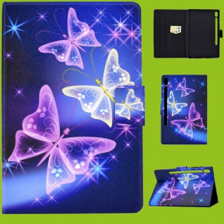 Für Lenovo Tab M10 Plus 10.3 Zoll X606F Motiv 53 Tasche Kunst Leder Hülle Etuis