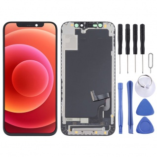 Für Apple iPhone 12 Mini Display Full INCELL COF LCD ohne Rahmen Einheit Schwarz