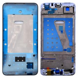 Gehäuse Rahmen Mittelrahmen Deckel für Huawei P Smart Schwarz Reparatur Ersatz