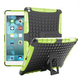 Hybrid Outdoor Schutzhülle Cover Grün für Apple iPad Air Tasche Case Hülle Neu