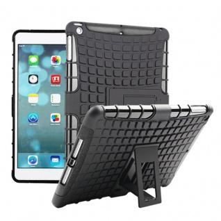 Für Apple iPad 9.7 2018 Hybrid Outdoor Schutzhülle Case Schwarz Tasche Cover Neu