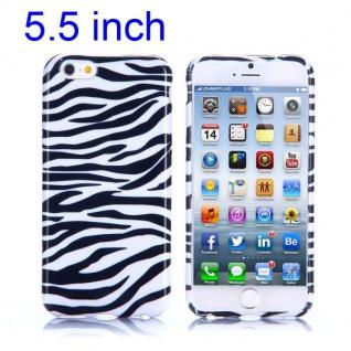 Silikon Case Muster 7 für Apple iPhone 6 Plus 5.5 Hülle Cover Schutz Zubehör Neu