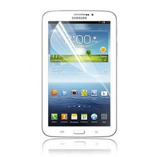 Displayschutzfolie für Samsung Galaxy Tab 3 7.0 P3200 P3210 Zubehör + Poliertuch