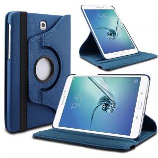 Schutzhülle 360 Grad Blau Tasche Etuis für Samsung Galaxy Tab S5e T720 T725 Case