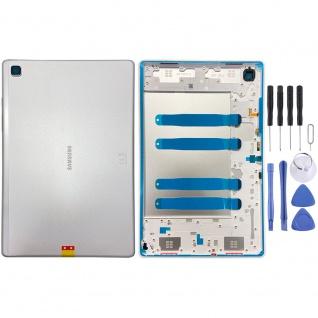 Samsung Akku Deckel Batterie Cover Galaxy Tab A7 T500 WIFI GH81-19737A Silber