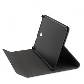 4smarts Flip-Tasche DailyBiz mit Hardcover für Samsung Galaxy Tab A 10.5 Schwarz