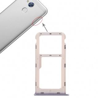Für Huawei Honor 6A Karten Halter Sim Tray Schlitten Holder Grau Reparatur Neu