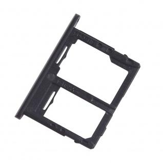Simkartenhalter für Samsung Galaxy Tab A 10.5 / T595 4G Version Card Schwarz