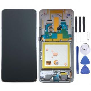 Samsung Display LCD Kompletteinheit für Galaxy A80 A805F GH82-20346B Silber Neu