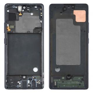 Mittelrahmen Bezel Samsung Galaxy A71 A715F Schwarz Middle Frame Rahmen Gehäuse
