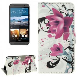 Schutzhülle Muster 3 für HTC One 3 M9 2015 Tasche Cover Case Hülle Etui Schutz