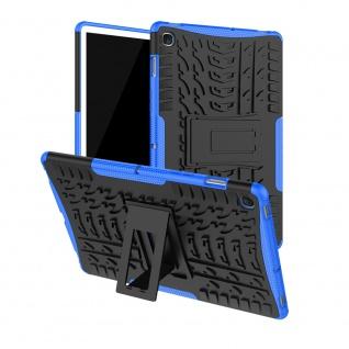 Für Samsung Galaxy Tab A 8.0 2019 T290 T295 Hybrid Blau Tasche Etuis Hülle Neu