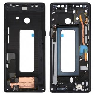 Für Samsung Galaxy Note 8 N950F Reparatur Mittelrahmen Kamera Gehäuse Schwarz