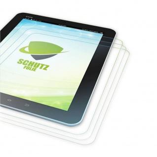 3x Displayschutzfolie Folie Schutzfolie für Apple iPad Air Zubehör + Poliertuch