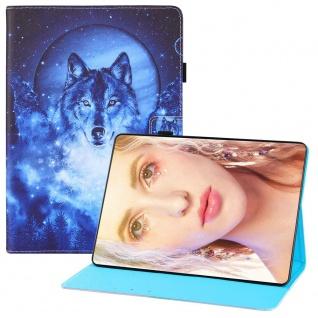 Für Samsung Galaxy Tab S7 FE / S7 Plus Motiv 1 Tablet Tasche Kunst Leder Hülle
