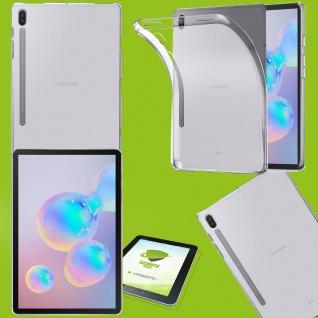 Für Samsung Galaxy Tab S7 Plus Transparent Hülle Tablet Tasche Cover + H9 Glas