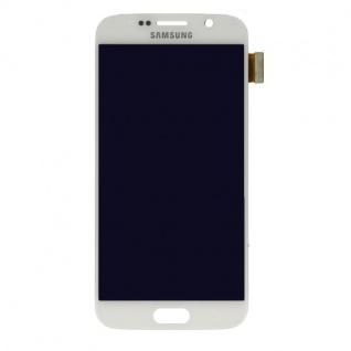 Display LCD Komplettset Touchscreen Weiss für Samsung Galaxy S6 G920 G920F Neu - Vorschau 2