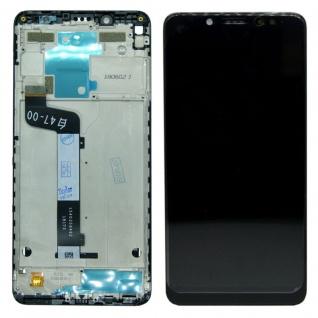 Für Xiaomi Redmi Note 5 Reparatur Display LCD Komplett mit Rahmen Touch Schwarz