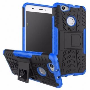 Hybrid Case 2teilig Outdoor Blau für Huawei Nova Tasche Hülle Cover Neu Schutz