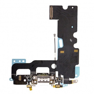 Dock Flex Connector Mikrofon Mic Flexkabel für Apple iPhone 7 Ladebuchse Weis
