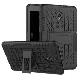 Hybrid Outdoor Schutzhülle Schwarz für Samsung Galaxy Tab A 8.0 2017 T385 Hülle