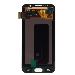 Display LCD Komplettset Touchscreen Schwarz für Samsung Galaxy S6 G920 G920F Neu - Vorschau 3