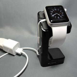 Halterung für Apple Watch Ständer Tisch Zubehör Lade Station Docking 38 mm 42 mm - Vorschau 2