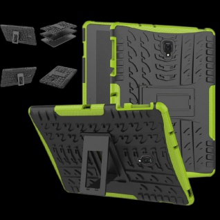 Für Huawei MediaPad T5 10.1 Zoll Hybrid Outdoor Case Grün Tasche Cover Hülle Neu