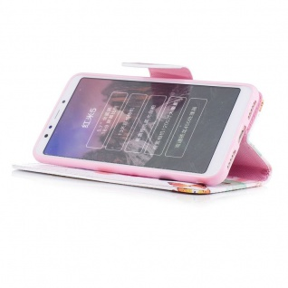 Für Huawei P20 Kunstleder Tasche Book Motiv 39 Schutz Hülle Case Cover Etui Neu - Vorschau 3