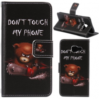 Schutzhülle Muster 82 für Samsung Galaxy S7 Edge G935F Tasche Cover Case Hülle
